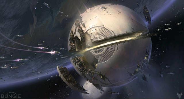 L'enorme nave aliena di Destiny