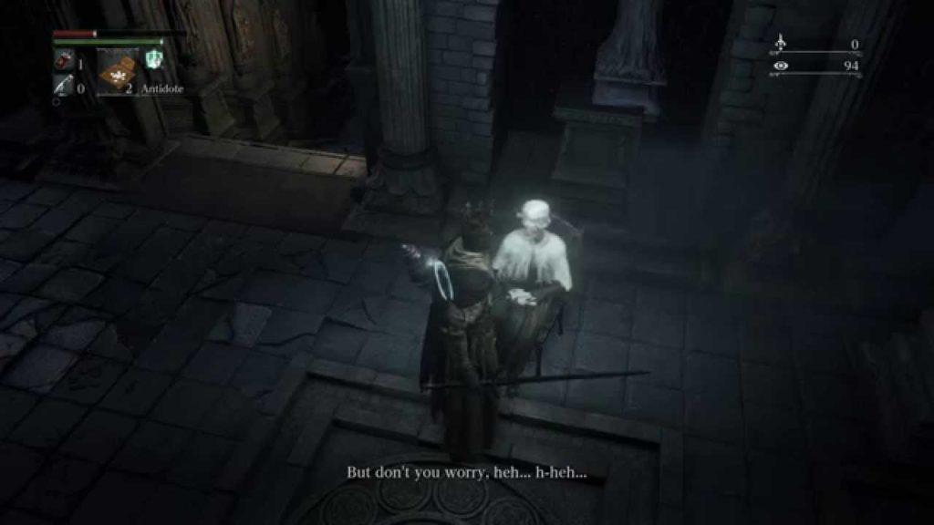 Bloodborne come portare a termine la missione della Vecchia Scorbutica