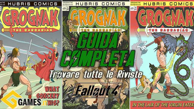 Fallout 4 - Tutte le riviste: Fumetti, Guide di Sopravvivenza, Robco Fun,  Grognak