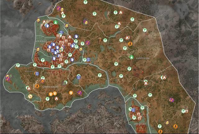 Tutti i collezionabili di Novigrad su The Witcher 3