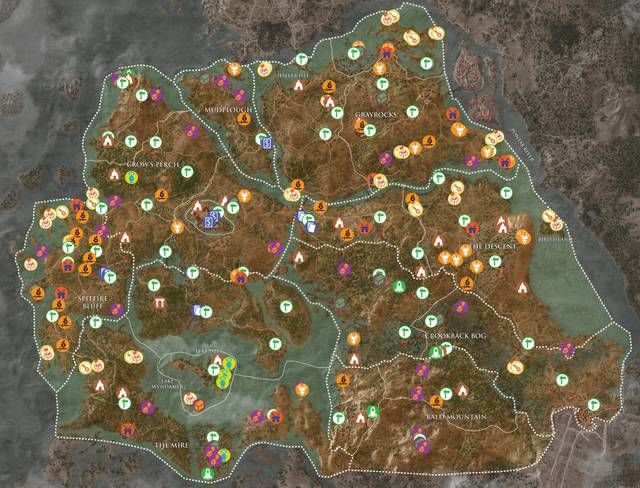 Tutti collezionabili del Velen in The Witcher 3