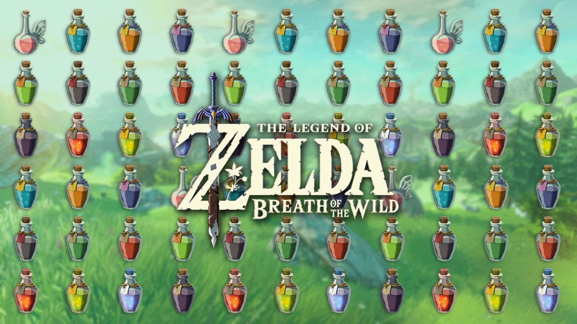 Zelda Breath of the Wild: guida pozioni e tonici