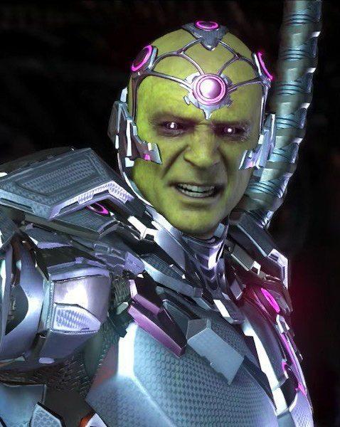 Ecco Brainiac, il main villain di Injustice 2