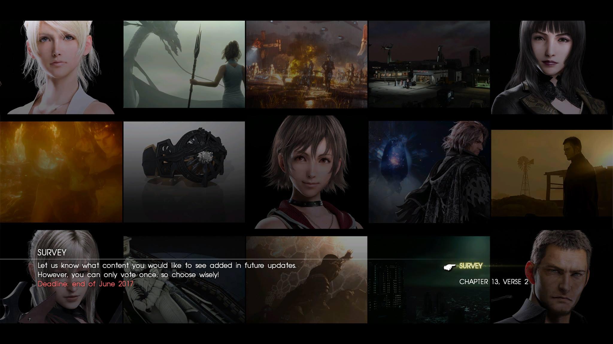 Final Fantasy XV update 1.10