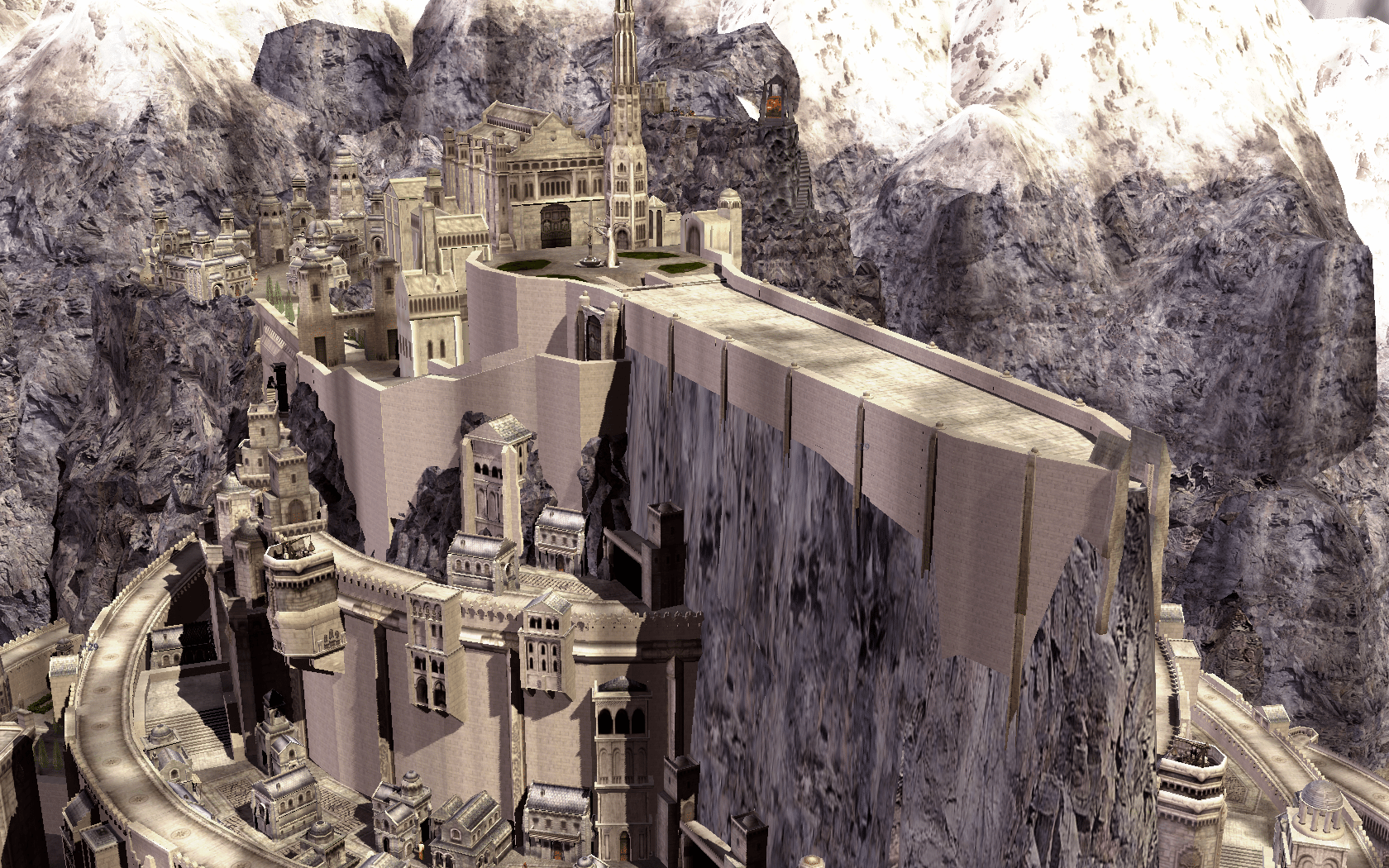 Minas Tirith Submod for BFME2