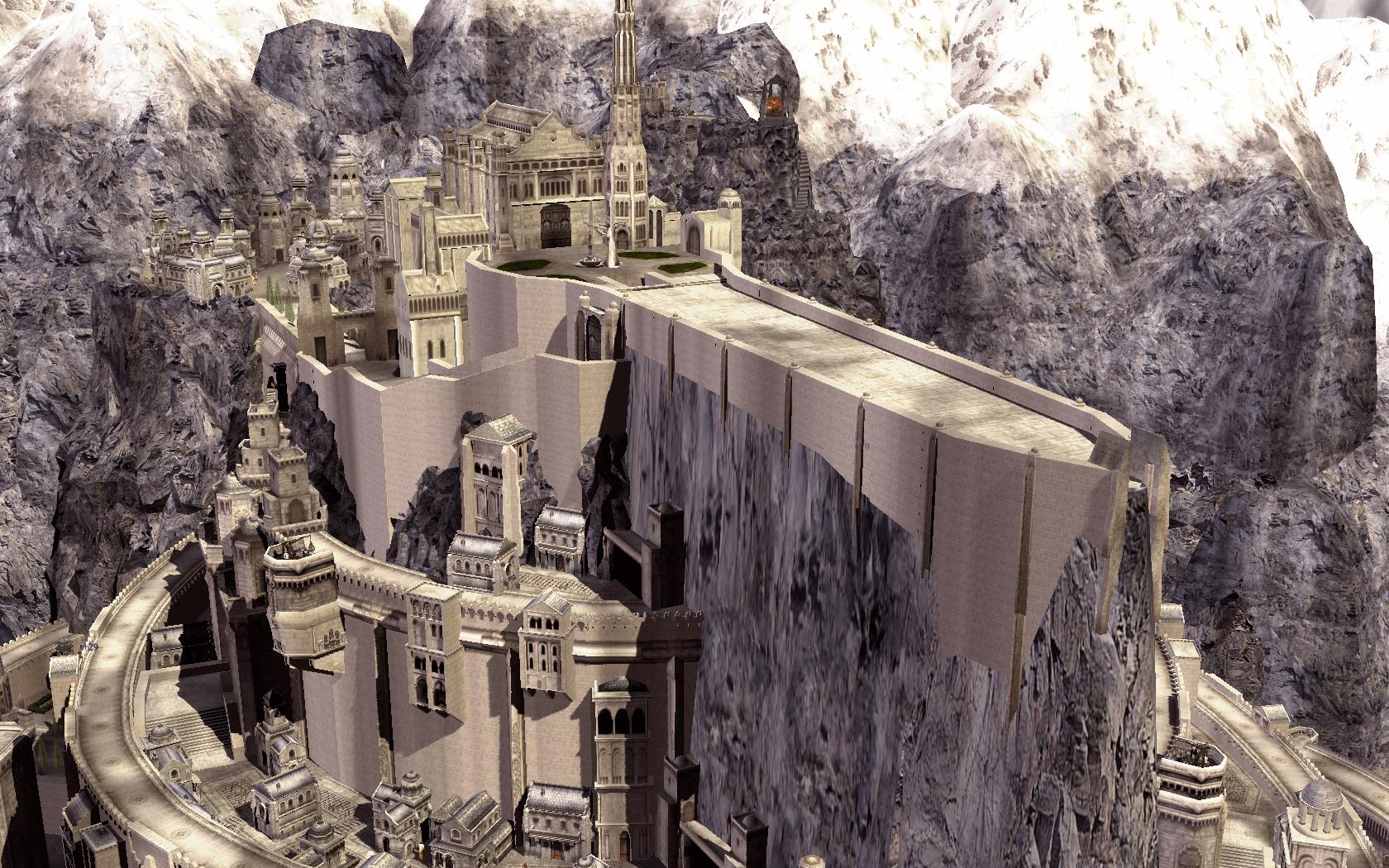 Minas Tirith Submod for BFME2