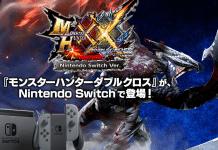 Monster Hunter XX in Arrivo su Nintendo Switch