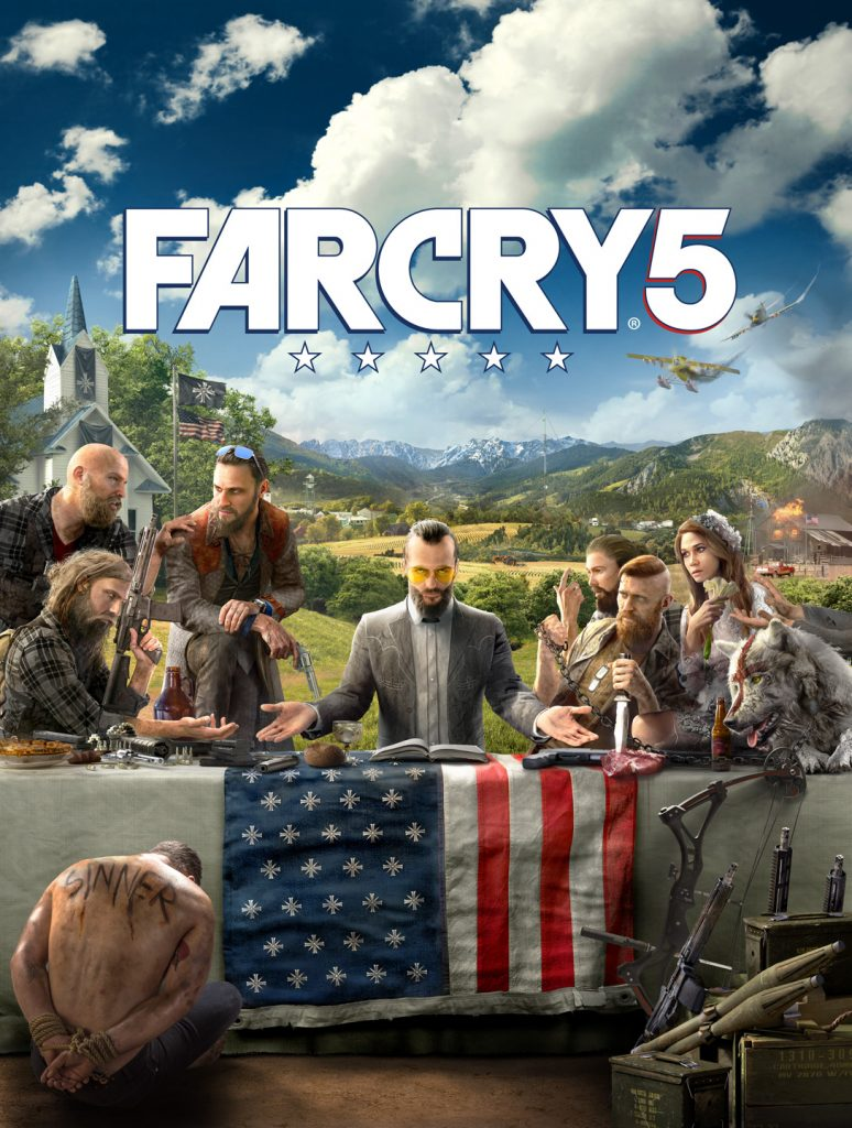 far cry 5 key art