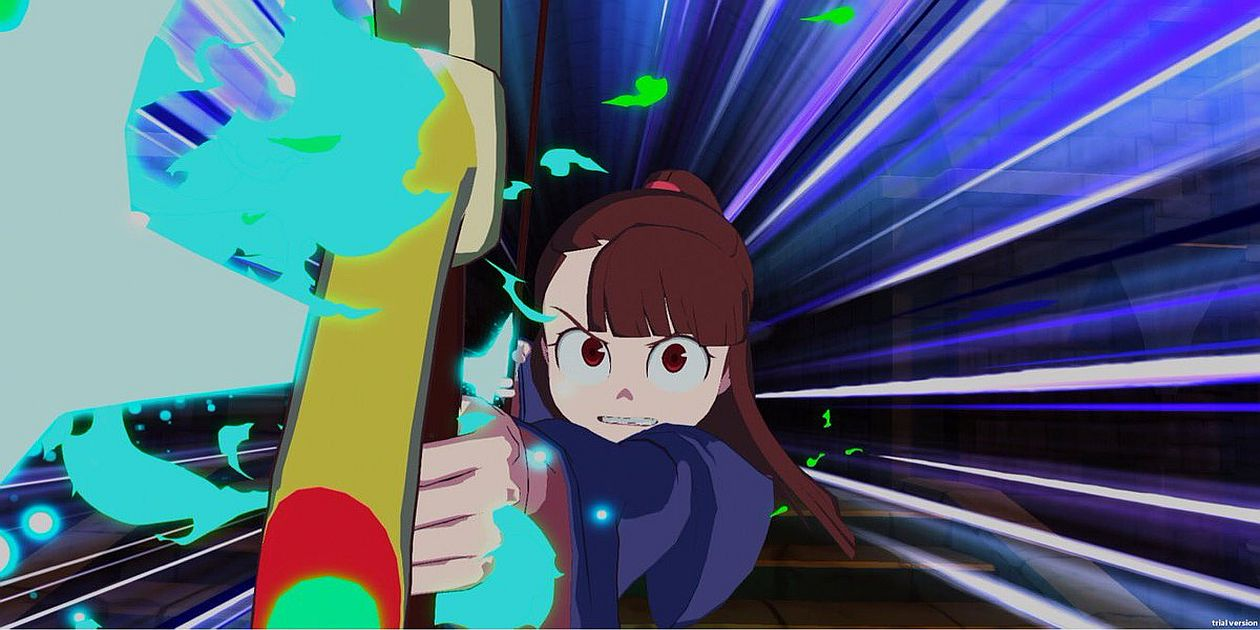 Little Witch Academia protagonista con arco