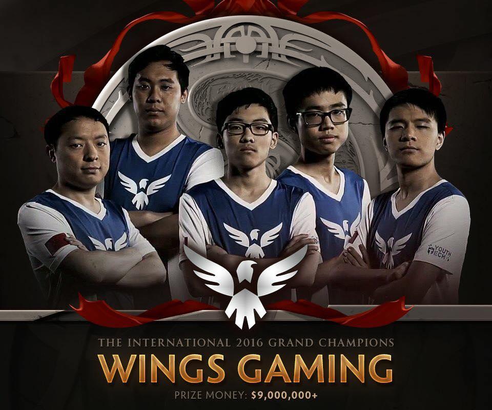 wings gaming dota 2 ti 2016 winner