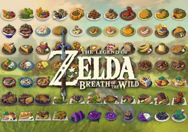 Zelda Breath of the Wild: guida alle ricette