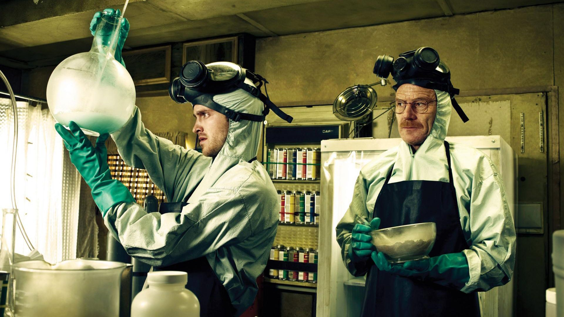 E se ci fossimo noi nel laboratorio di Breaking Bad?