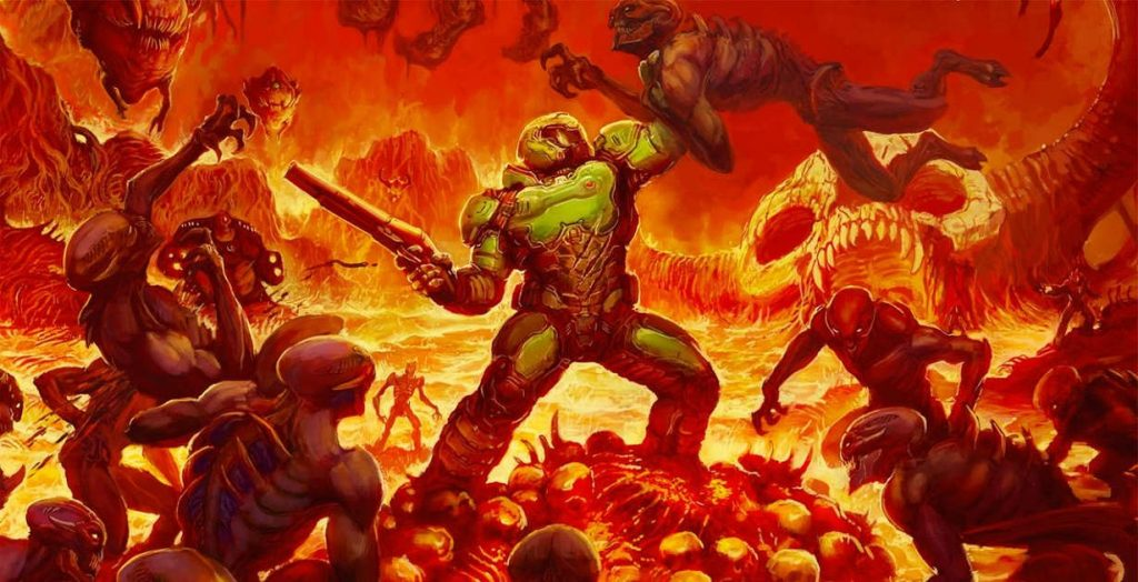 DOOM anche su Nintendo Switch