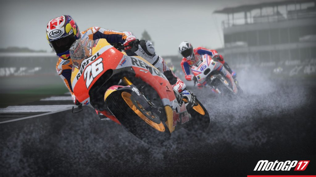 MotoGP 17 pioggia