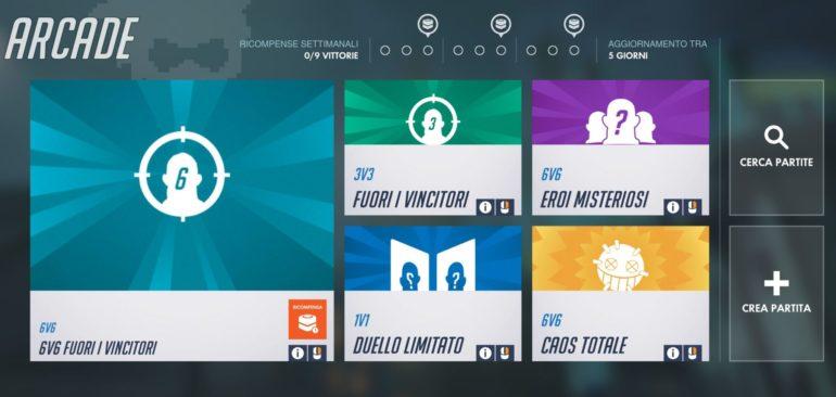 Overwatch: 6v6 fuori i vincitori è la nuova modalità arcade