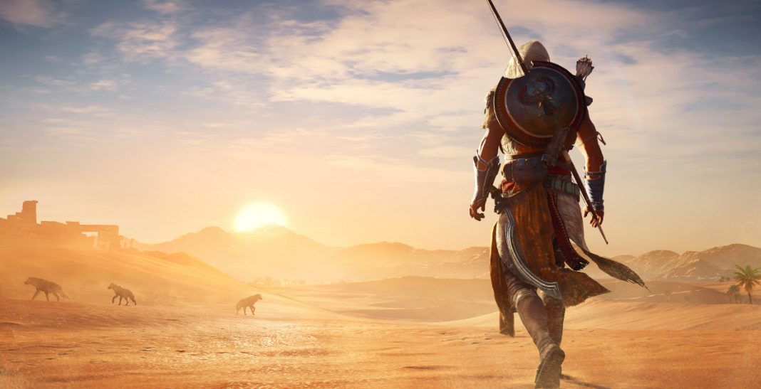Assassin's Creed Origins_sunset_desert