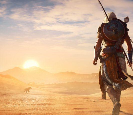 Assassin's Creed Origins_sunset_desert