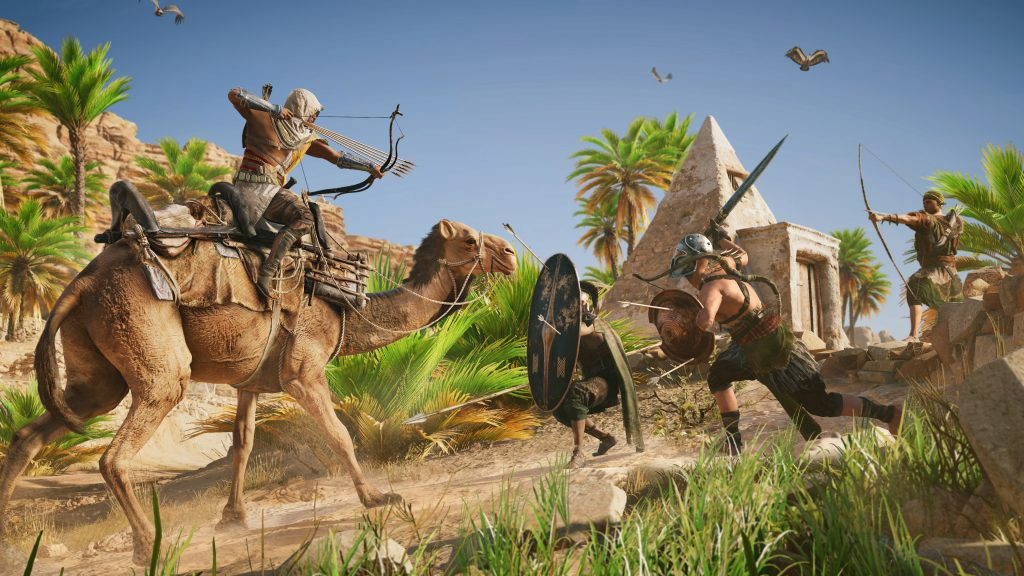 Assassin's Creed Origins camel_fight