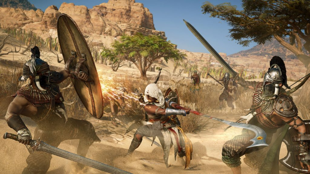 Assassin's Creed Origins fight01