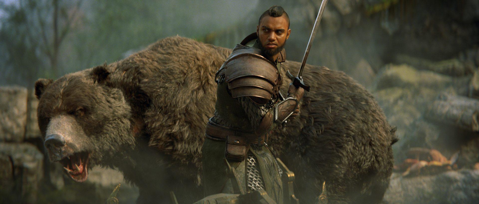Il Warden e il suo fidato compagno.