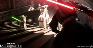 Electronic Arts mostra Star Wars: Battlefront II all' E3 2017
