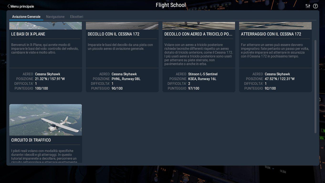 La prima parte dei Tutorial di X-Plane 11
