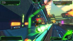 Hover Revolt of Gamers Grinding Screenshot