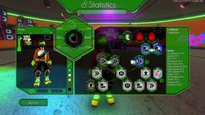 Hover Revolt of Gamers Skill Grid Screenshot