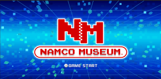 namco museum title screen