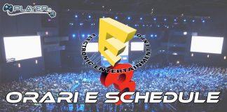 Orari e schedule E3
