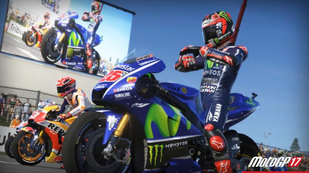 MotoGP 17 partenza