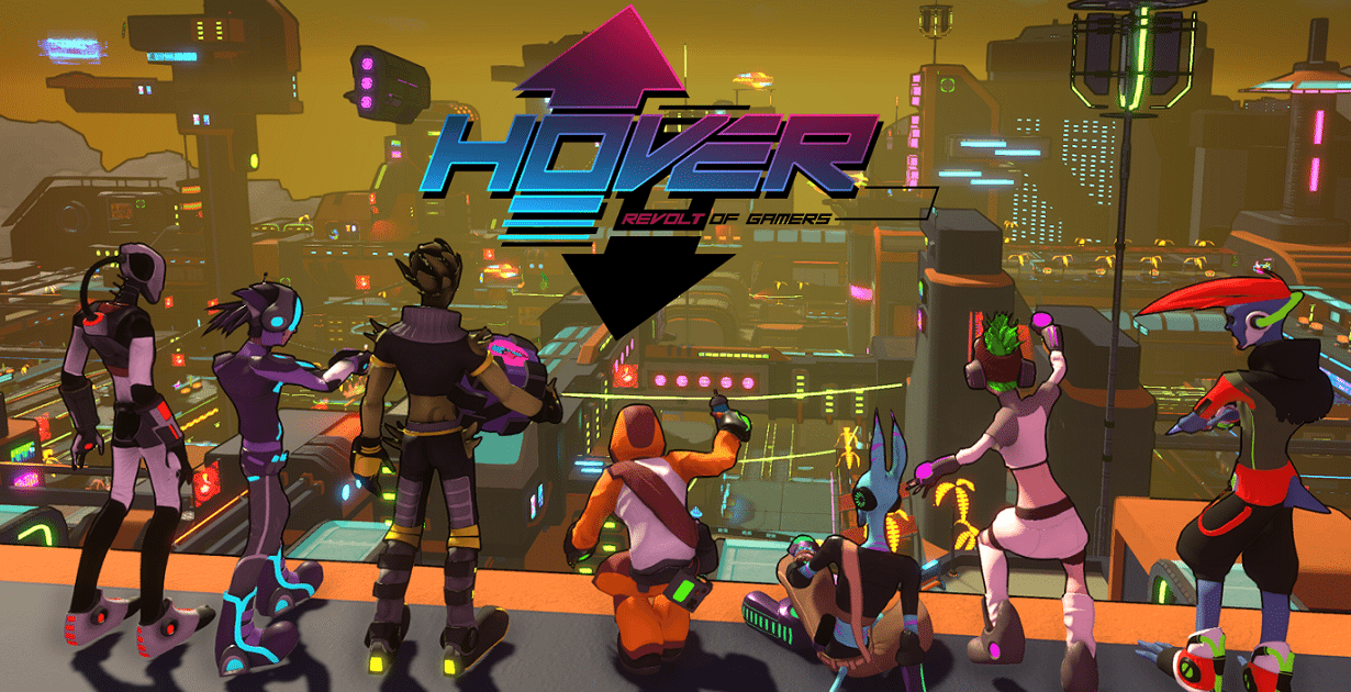 Sulla falsariga di Jet Set Radio, arriva Hover: Revolt of Gamers