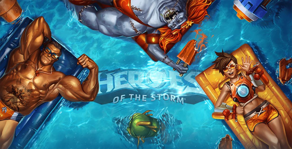 Tutti al mare col nuovo aggiornamento di Heroes of the Storm
