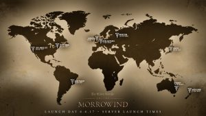 mappa server up morrowind