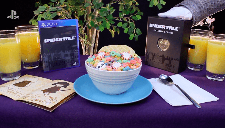 Undertale Retail Editions PS4