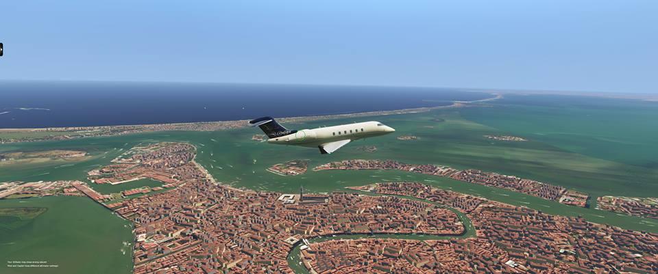 X-Plane 11 Venezia città