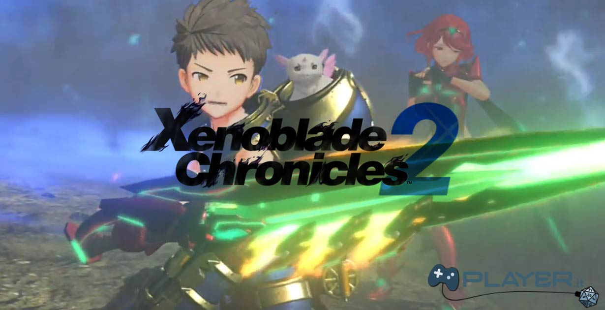 Xenoblade Chronicles 2 mostrato all'E3 Nintendo Spotlight