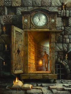 Ancient occult library