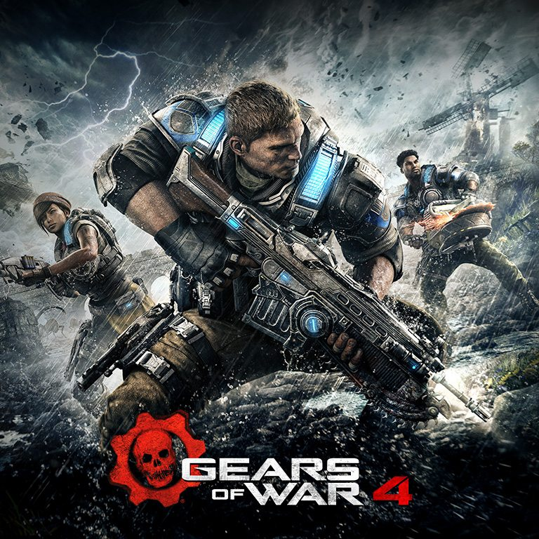 Gears of War 4 e 5