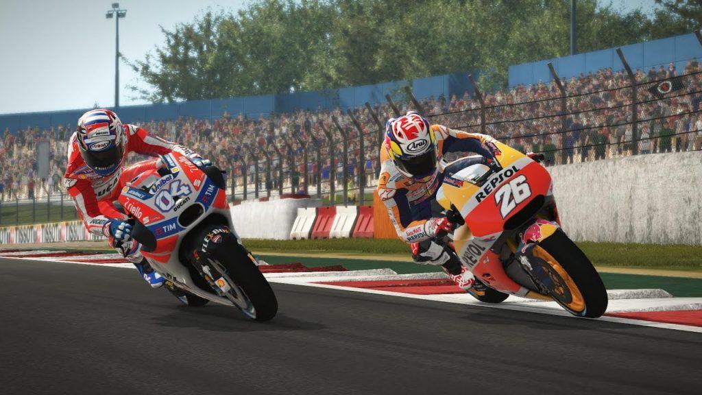 MotoGP 17 sorpasso