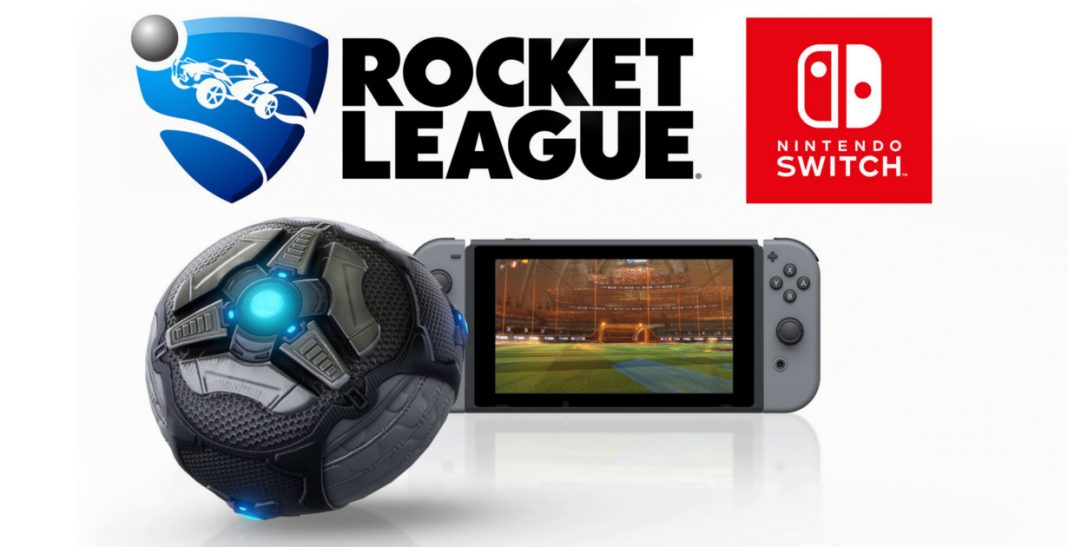 Rocket League girerà a 720p e 60fps su Nintendo Switch
