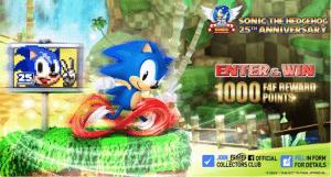 Sonic the hedgehog statua