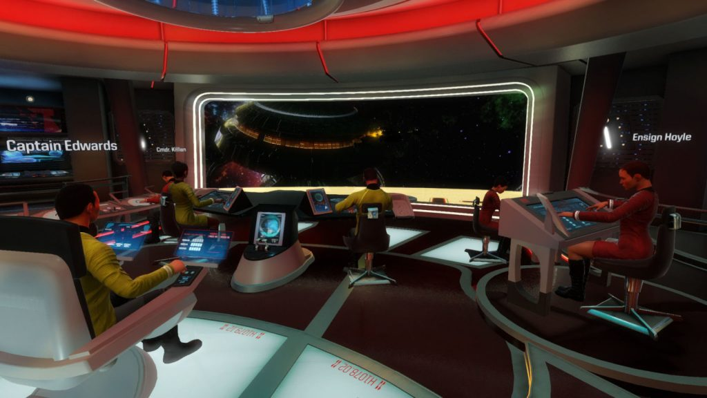 Star Trek Bridge Crew Plancia