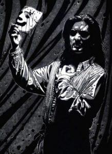 Teatro maschera vampiro personaggio
