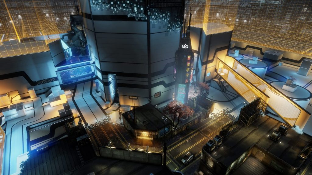 Titanfall 2 war games map