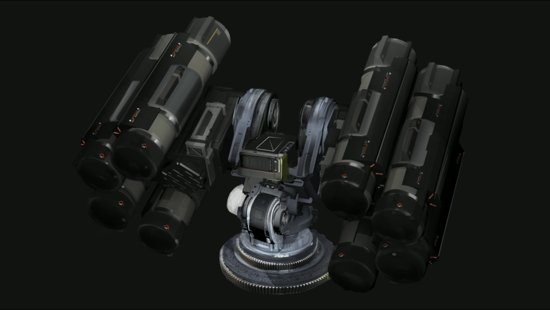 Parte dell'arsenale contro i Thargoids