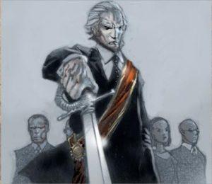 Vampire imperator masquerade