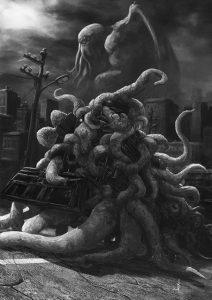 Alba di Chtulhu tentacolobus