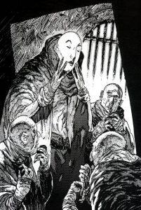 Vampiri nosferatu Maschera dei Mille Volti