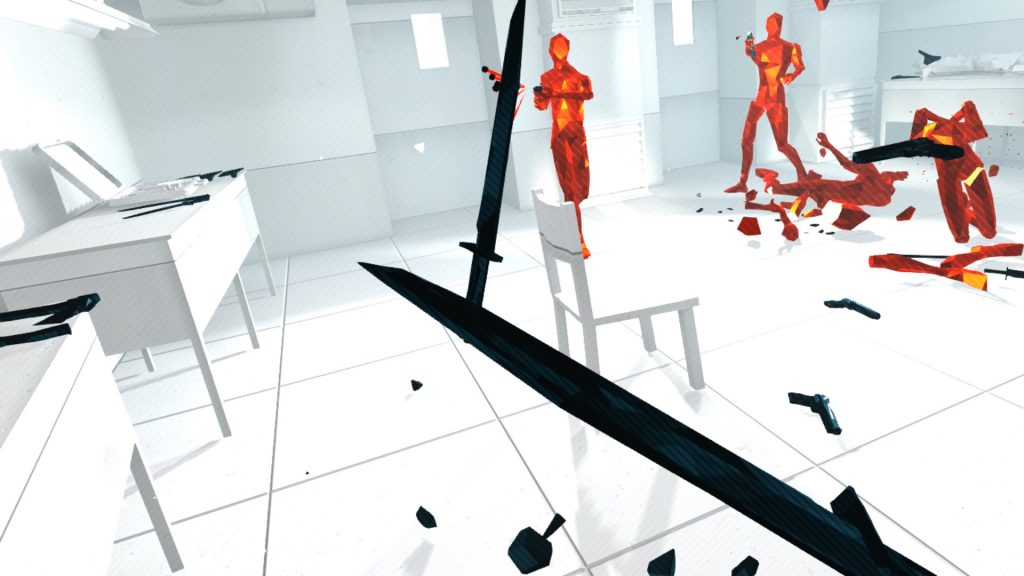 Superhot VR armi